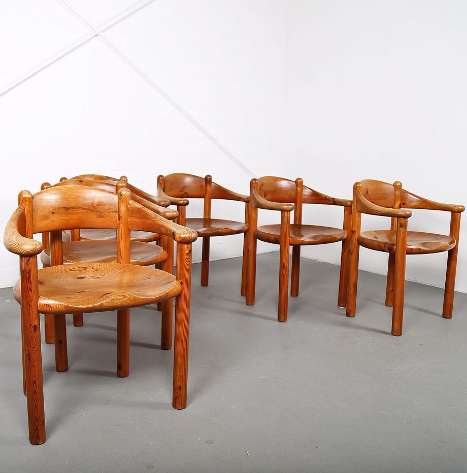 Mid-Century_Modern_Set_Pine_Danish_Chairs_Rainer_Daumiller_1970s_Kiefer_Design_04