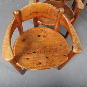Mid-Century_Modern_Set_Pine_Danish_Chairs_Rainer_Daumiller_1970s_Kiefer_Design