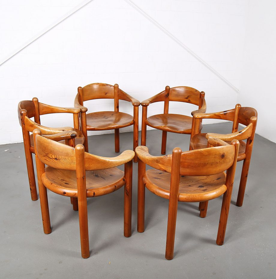 Mid-Century_Modern_Set_Pine_Danish_Chairs_Rainer_Daumiller_1970s_Kiefer_Design_17