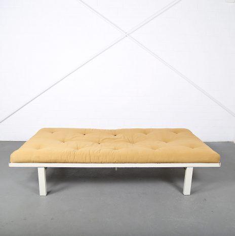 Minimalist mid-century modern design French Daybed with futon