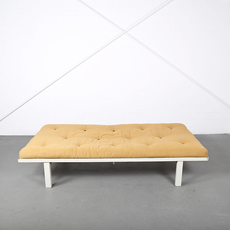 Minimalist Mid Century Modern Design French Daybed With Futon Dekaden