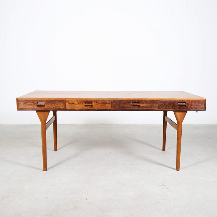 Danish Design Rosewood Desk by Nanna Ditzel for Søren Willadsen