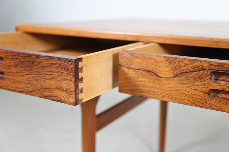 Danish Design Rosewood Desk by Nanna Ditzel for Søren Willadsen