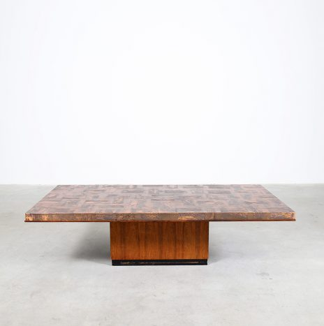 Copper Coffee Table by Heinz Lilienthal 70s Design
