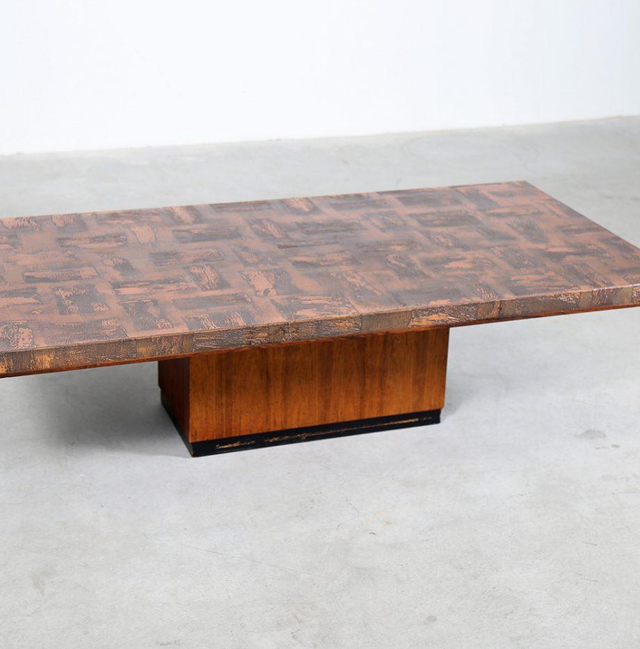 Kupfertisch_copper_Coffee_Table_Brutalist_Heinz_Lilienthal_70s_Design_Designklassiker_gebraucht_selten_German_Design_03