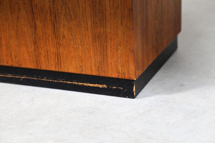 Copper Coffee Table Vintage Design Heinz Lilienthal 70s 70er Germany Art geätzt