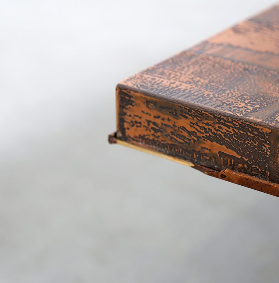 Kupfertisch_copper_Coffee_Table_Brutalist_Heinz_Lilienthal_70s_Design_Designklassiker_gebraucht_selten_German_Design_14