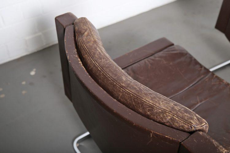 De Sede RH201 Robert Haussmann Design Executive Lounge Chair Switzerland