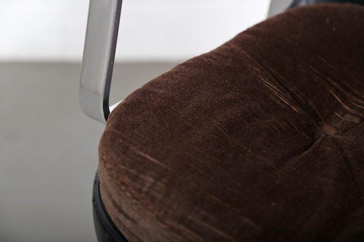 Froescher Office chair Ib Kofod Larsen Elizabeth attr Danish Design Leather Conference Chair Danish Design