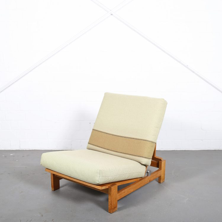 Hans Wegner GE420 Getama Lounge Chair Oak Daybed Folding Chair Tak Danish Design