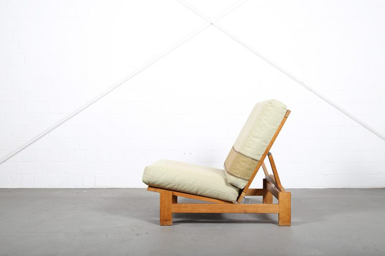Hans Wegner GE420 Getama Lounge Chair Oak Daybed Folding Chair Tak Danish Design