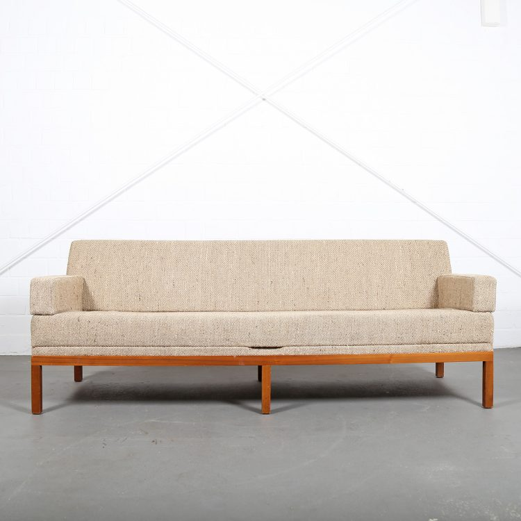 Johannes Spalt Sofa Daybed Constanze Wittmann 1960s Design Wood Fabric