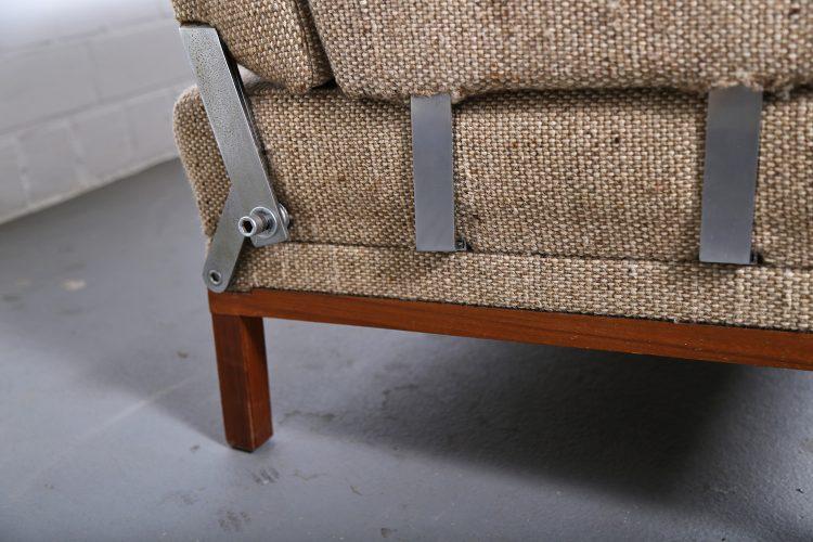 Johannes Spalt Sofa Daybed Constanze Wittmann 1960s Design Wood Fabric