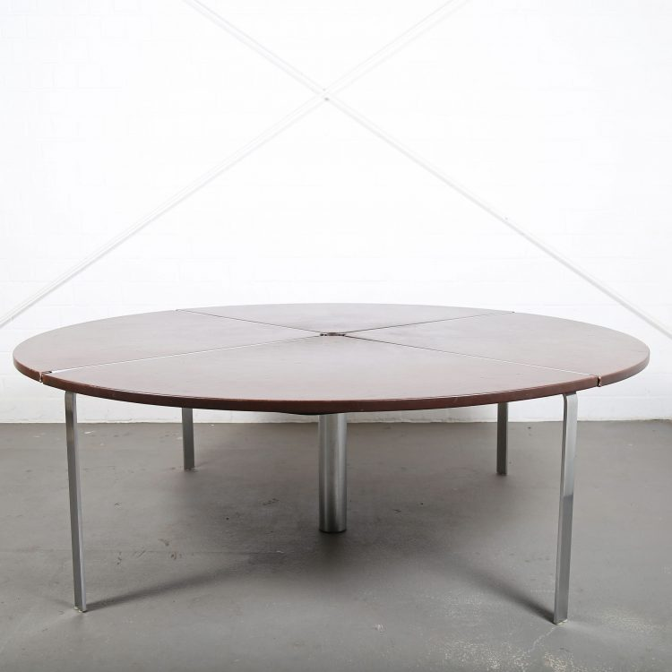 Jorgen Kastholm Preben Fabricius KT 210-4 Conference Table Kill International Bo-Ex Danish Design