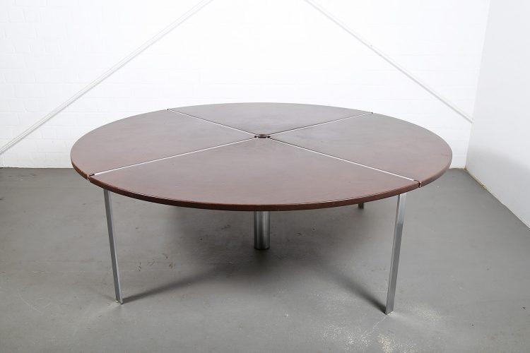 Jorgen Kastholm Preben Fabricius KT 210-4 Conference Table Kill International Bo-Ex Danish Design