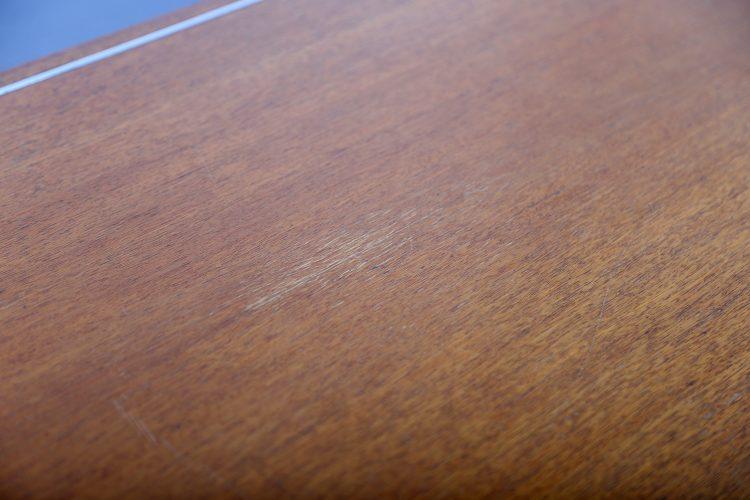 Richard Schultz Knoll International Coffee Table Mod 455-2 Teak Chrome 60s Design