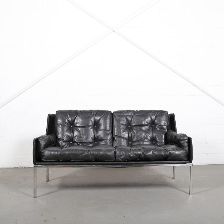 Roland Rainer WK Moebel attr Sofa 2-Seater Early Edition 60s Design classic Furniture