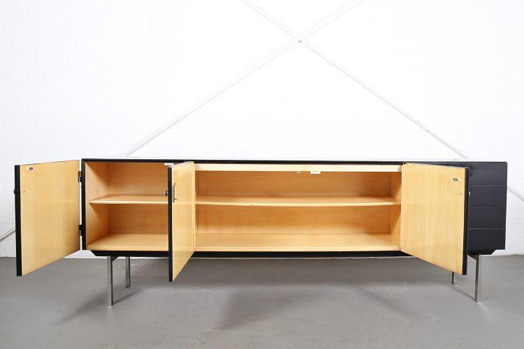 Sideboard Credenza 60s Vintage Design black Behr Alfred Hendrickx Belform