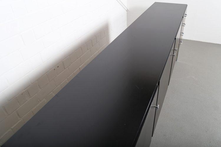Sideboard Credenza 60s Vintage Design black Behr Alfred Hendrickx Bleform